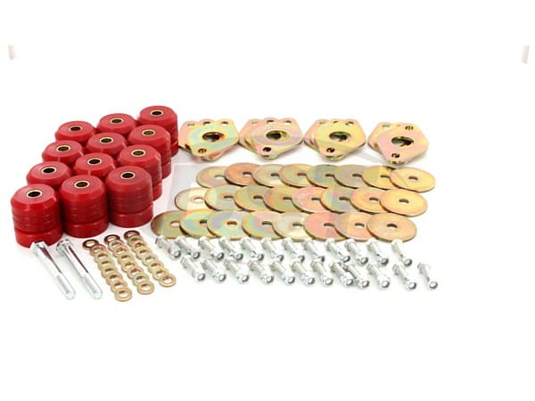 2.4109 Body Mount Bushings Kit - 4 Door