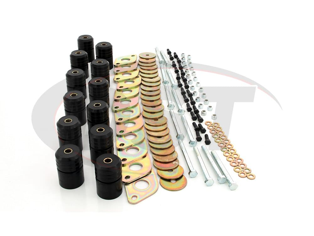 2.4110 Body Mount Bushings Kit - 1 Inch Lift - 4 Door