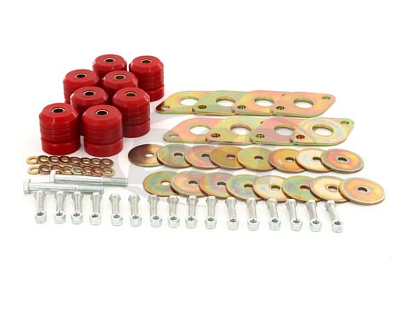 2.4111 Body Mount Bushings Kit - 2 Door