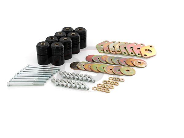 Body Mount Bushings Kit - 1 Inch Lift - 2 Door