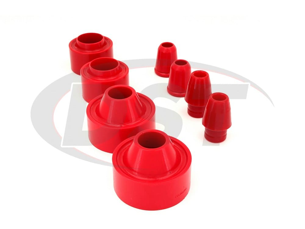 2.6113 Front and Rear Coil Spring Spacers with Bump Stops - 1.75 Inch Lift