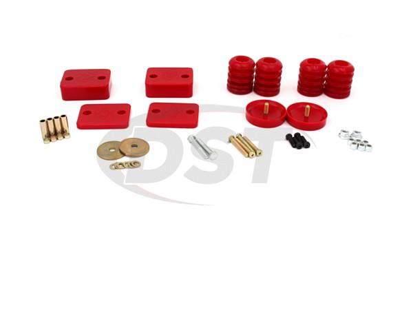 2.6115 Front and Rear Rock-Flex Adjustable Progressive Bump Stop Set