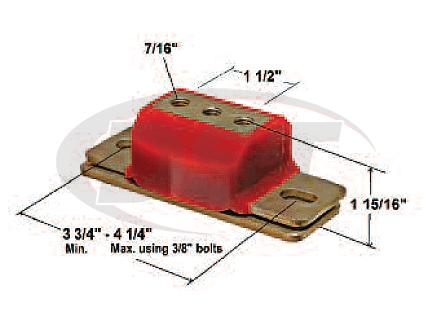 3.1108 Transmission Mount - Zinc