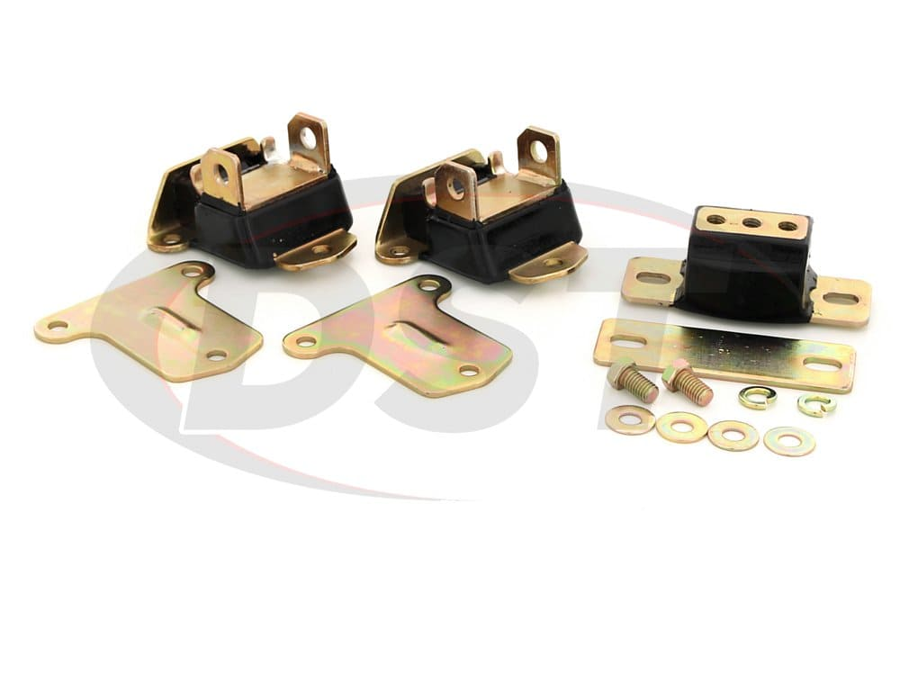 Chevrolet Chevelle Motor and Transmission Mount Set
