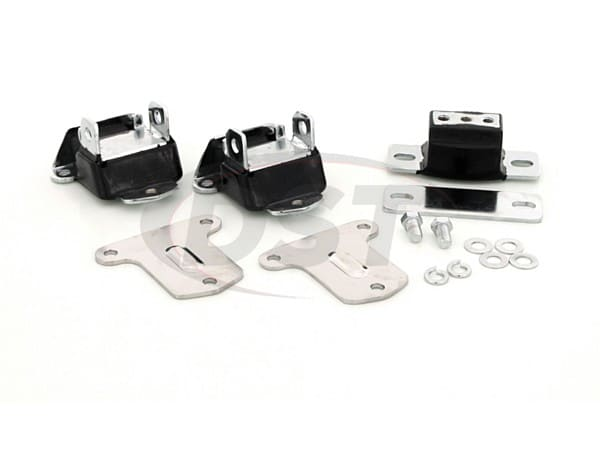 Engine and Transmission Mount Combo - Chrome