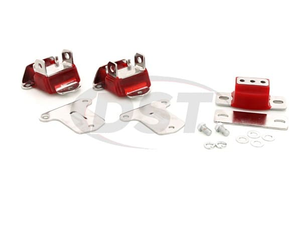 3.1134 Engine and Transmission Mount Combo - Chrome