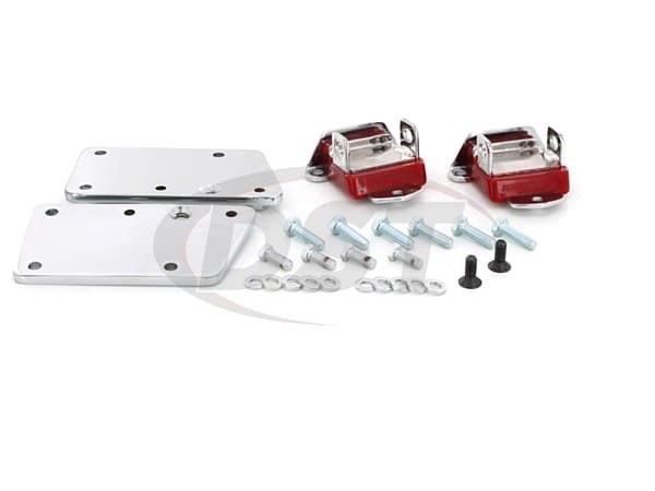 3.1147 LS-Series Motor Conversion Set - Chrome Plated