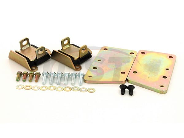 LS-Series Motor Conversion Set - Zinc Plate