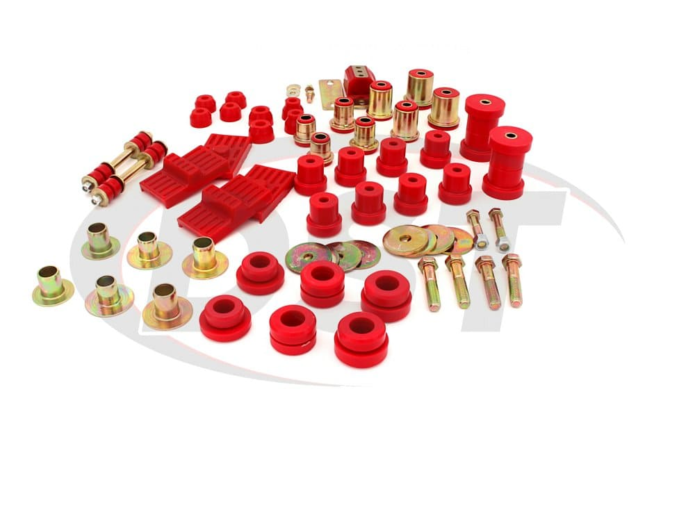 3.18116 Complete Suspension Bushing Kit - Chevrolet Camaro 75-79 and Pontiac Firebird/Trans Am 74-75