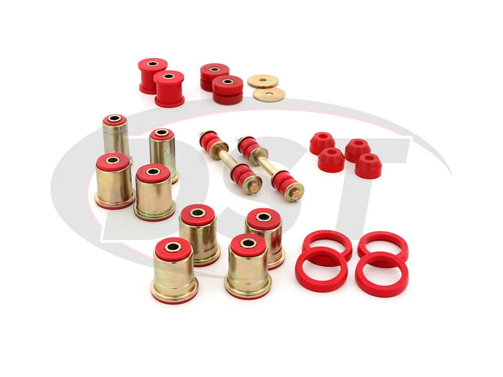 3.18131 Complete Suspension Bushing Kit - Chevrolet Camaro and Pontiac Firebird/Trans Am 82-92