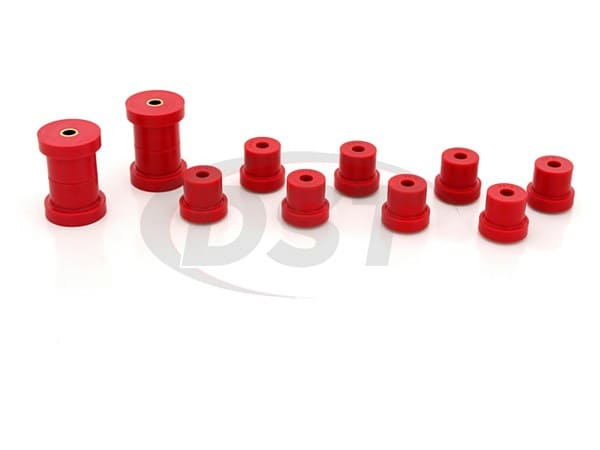 Energy Suspension 3.2103R Hyper-Flex Rear Leaf Spring Bushings