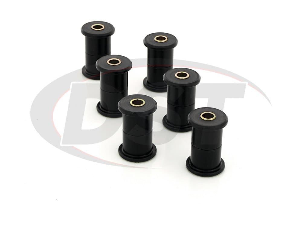3.2106 Rear Leaf Spring Bushings - 1.5 Inch Main Eye - 1.5 Inch Frame Shackle Bushing