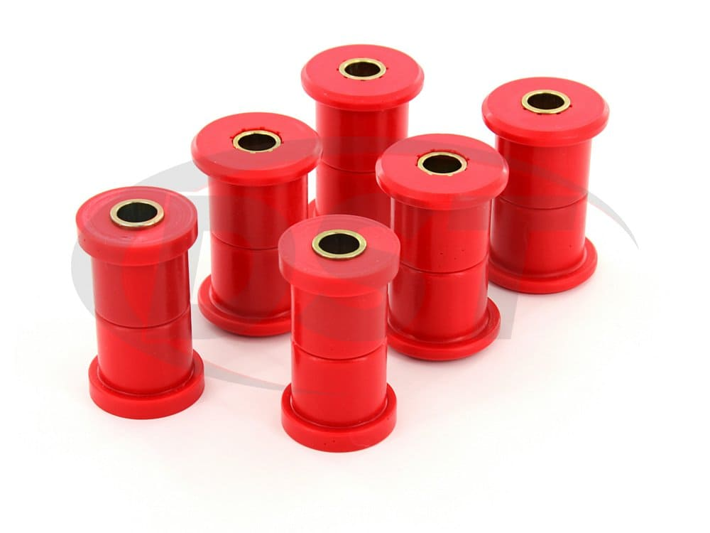 3.2108 Rear Leaf Spring Bushings - 1.5 Inch Main Eye - 1-3/8 Inch Frame Shackle