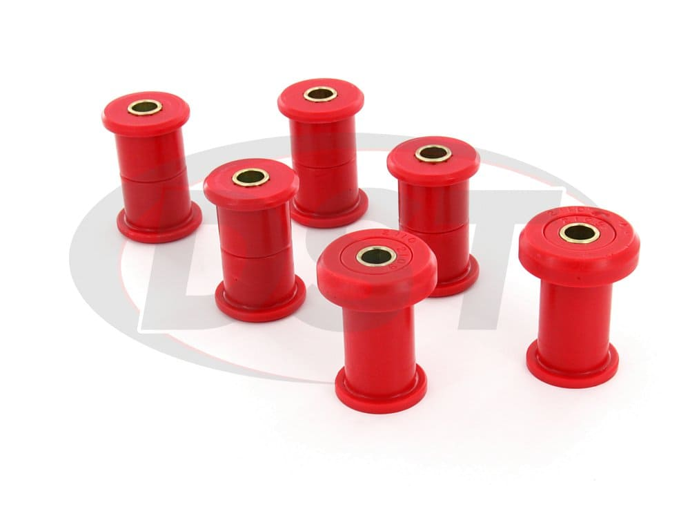3.2129 Rear Leaf Spring Bushings - 3 Inch Sleeve