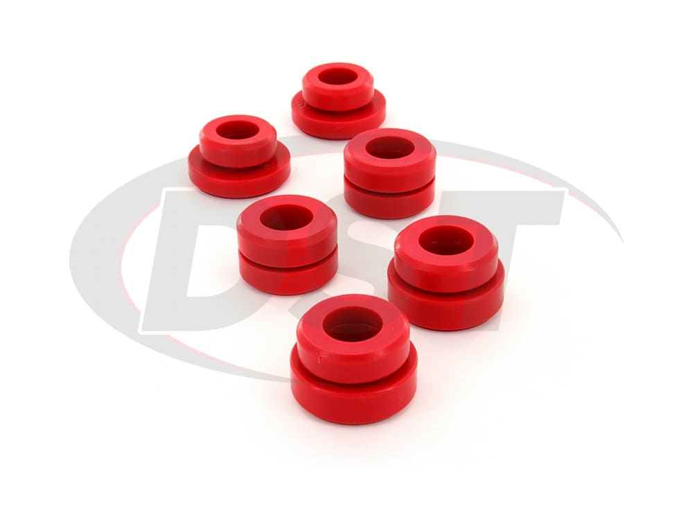 3.4101 Body Mount Bushings and Radiator Support Bushings