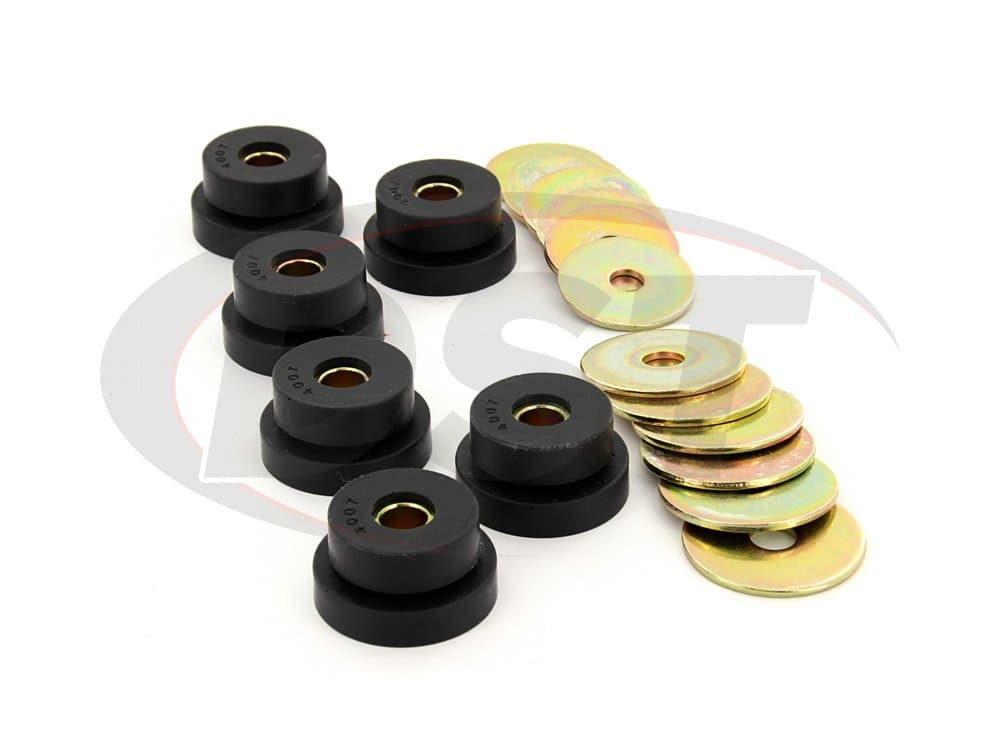 3.4102 Body Mount Bushings 63-67 - Hardtop Corvette