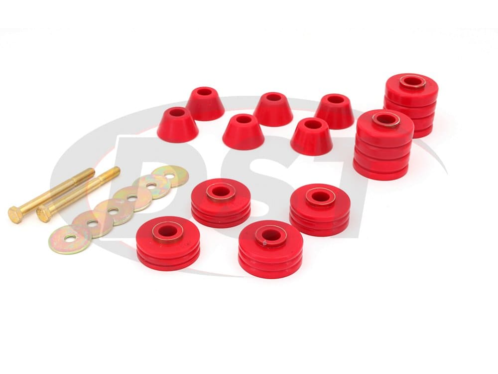 3.4103 Body Mount Bushings and Radiator Support Bushings - Standard Cab