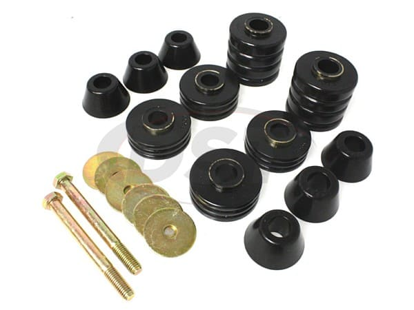 Body Mount Bushings and Radiator Support Bushings - Standard Cab