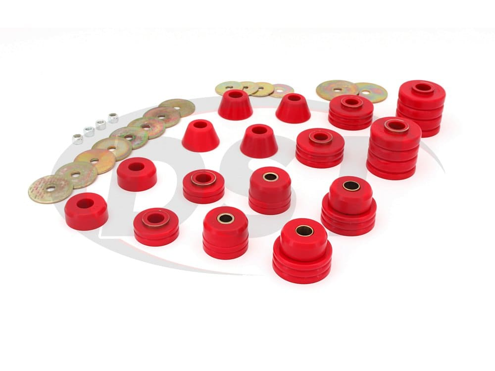 3.4105 Body Mount Bushings and Radiator Support Bushings - Blazer