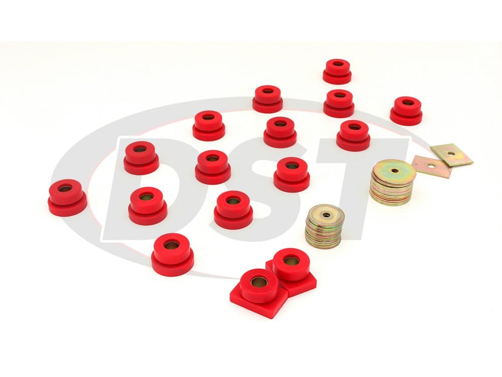 3.4106 Body Mount Bushings - Sedan
