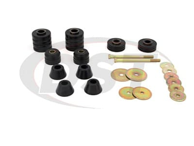 Energy Suspension Body Mounts for C30 Pickup, K20 Pickup, K30 Pickup, K15/K1500 Pickup, K25/K2500 Pickup, K35/K3500 Pickup