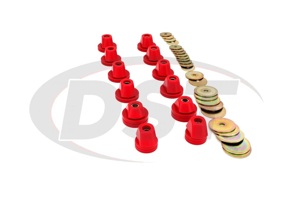 3.4110 Body Mount Bushings and Radiator Support Bushings - Blazer