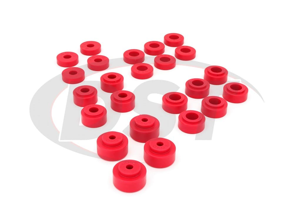 3.4113 Body Mount Bushings and Radiator Support Bushings - El Camino