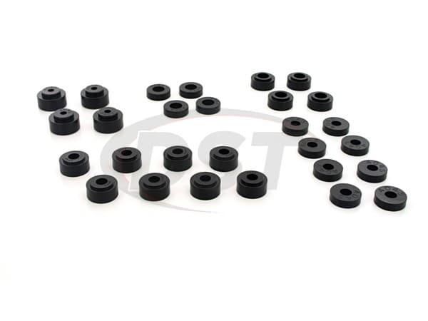 Body Mount Bushings and Radiator Support Bushings - Convertible