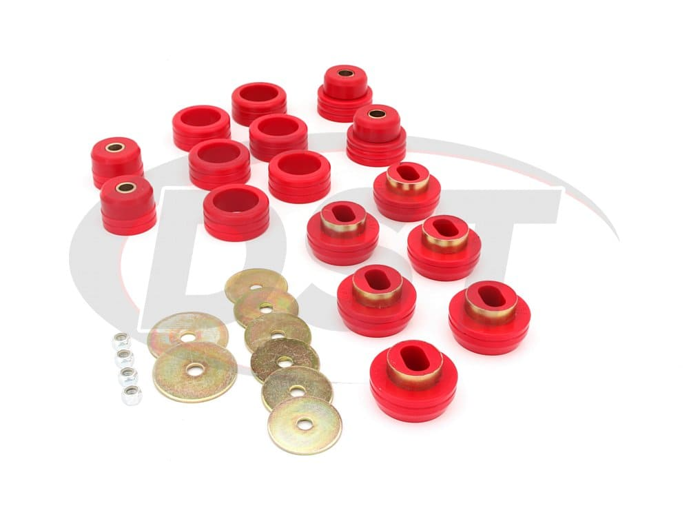 3.4118 Body Mount Bushings Kit - Blazer Only