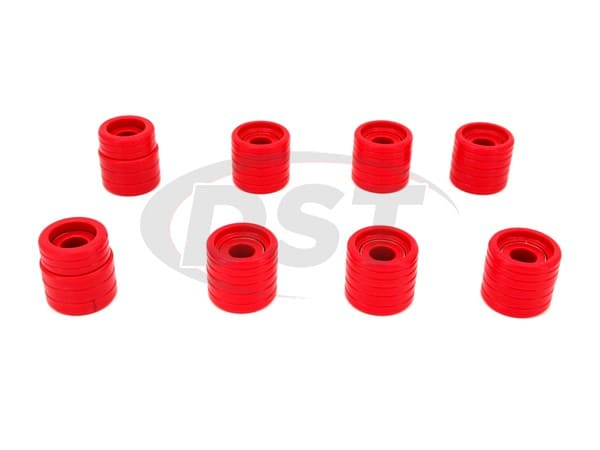 3.4122 Body Mount Bushings Kit - Extra Cab