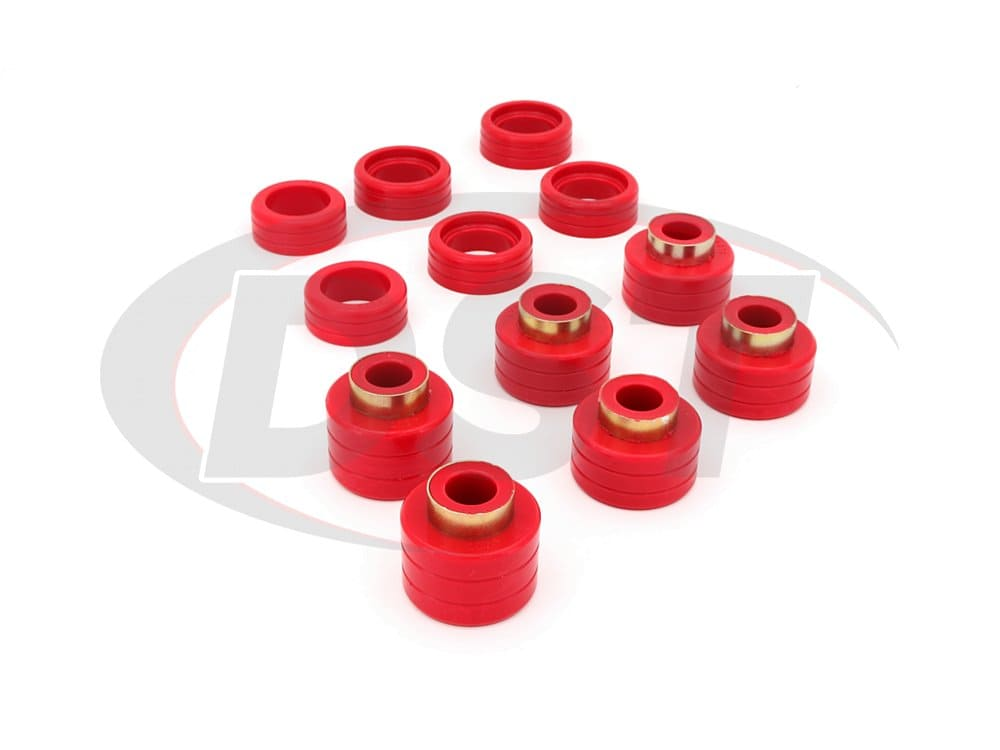 3.4123 Body Mount Bushings Kit - Standard Cab