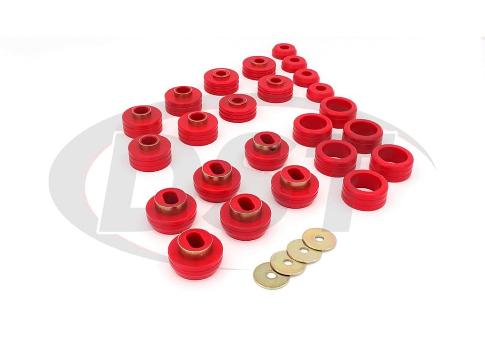 3.4124 Body Mount Bushings and Radiator Support Bushings - Suburban
