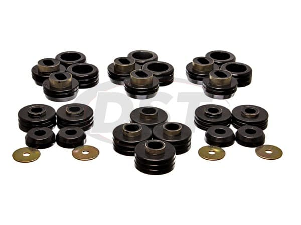 Body Mount Bushings and Radiator Support Bushings - Suburban