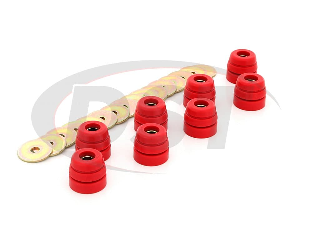 3.4126 Body Mount Bushings 73-82 Corvette