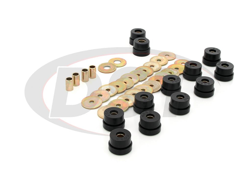 3.4128 Body Mount Bushings and Radiator Support Bushings - Non Convertible