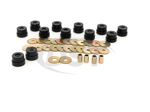 Body Mount Bushings and Radiator Support Bushings - Non Convertible
