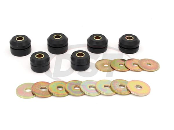 Body Mount Bushings and Radiator Support Bushings