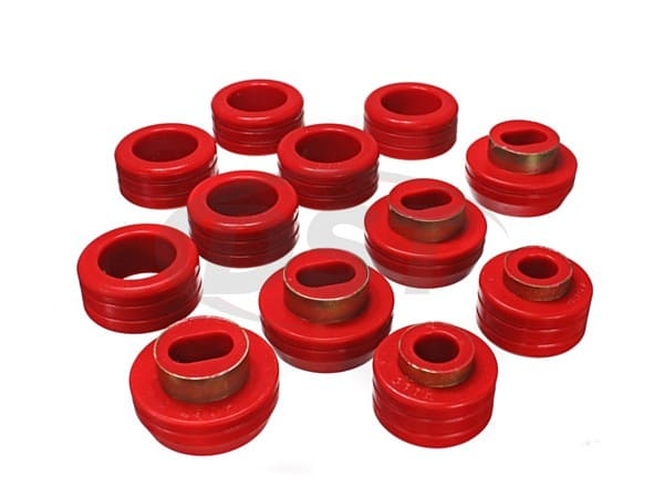 3.4130 Body Mount Bushings and Radiator Support Bushings - Regular Cab
