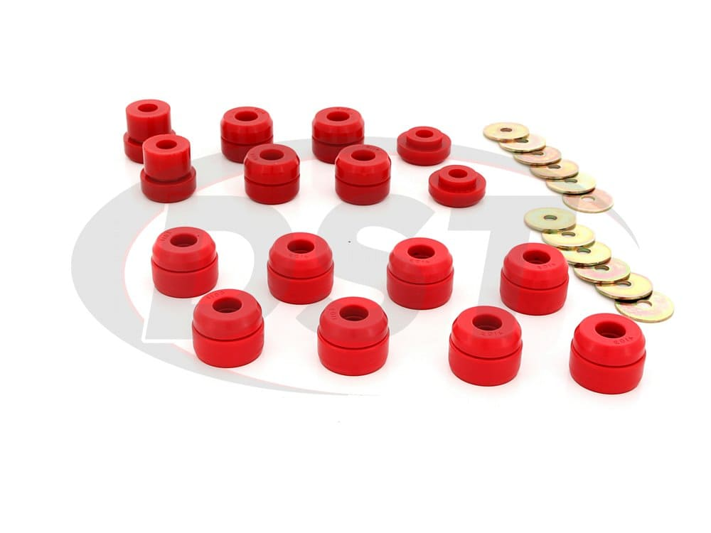 3.4136 Body Mount Bushings and Radiator Support Bushings - Firm Durometer