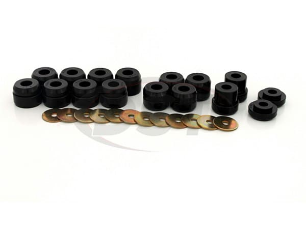 Body Mount Bushings and Radiator Support Bushings - Firm Durometer