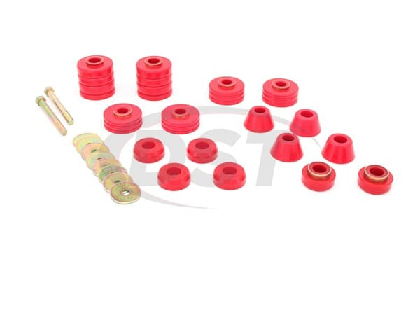 Body Mount Bushings and Radiator Support Bushings - 75-79 Crew Cab