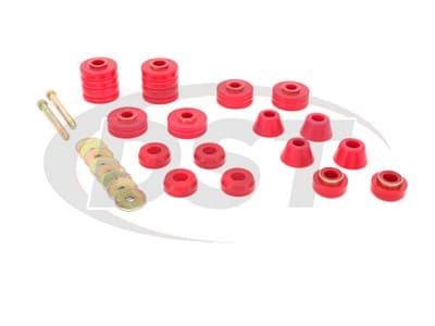 Energy Suspension Body Mounts for C20, C20 Pickup, C30, C30 Pickup, K10, K10 Pickup, K20, K20 Pickup, K30, K30 Pickup, K15, K1500, K1500 Suburban, K25, K2500, K2500 Suburban, K35, K3500