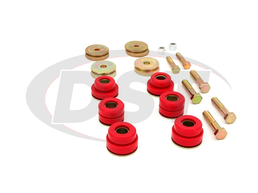 3.4142 Body Mount Bushings and Radiator Support Bushings