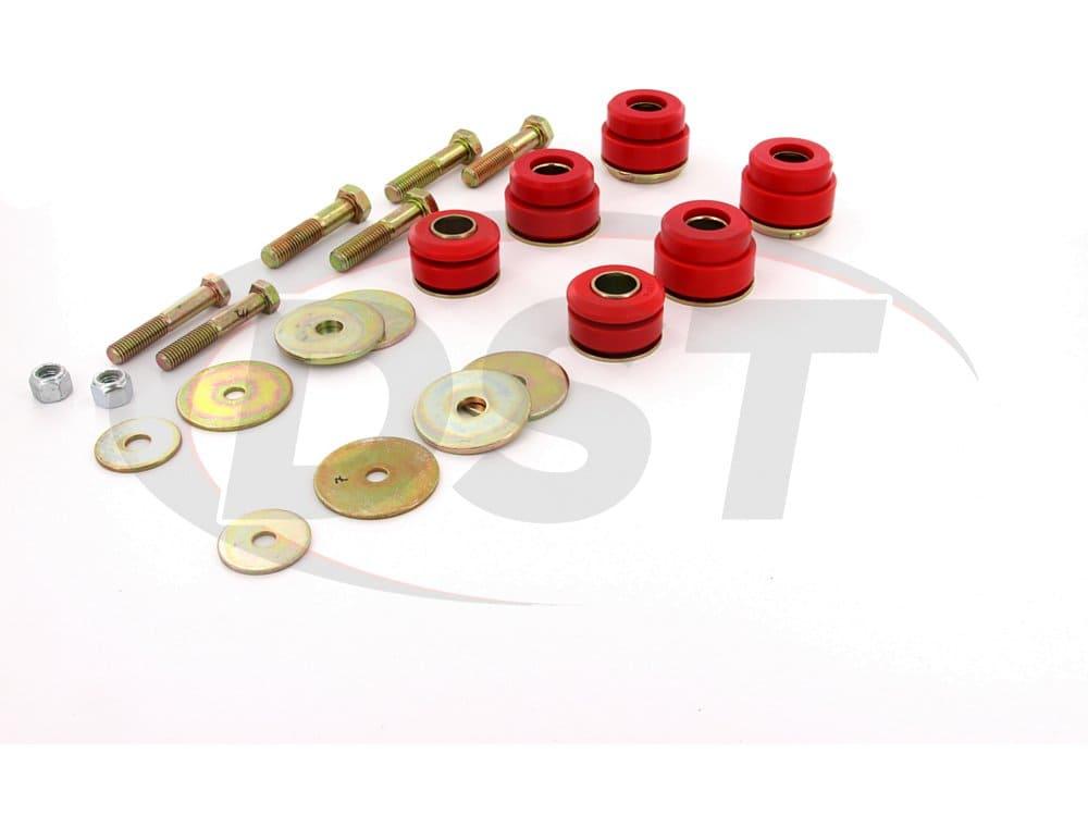 3.4144 Body Mount Bushings and Radiator Support Bushings - 76-81 Pontiac