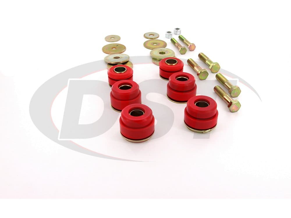 3.4144 Body Mount Bushings and Radiator Support Bushings - 76-81 Pontiac