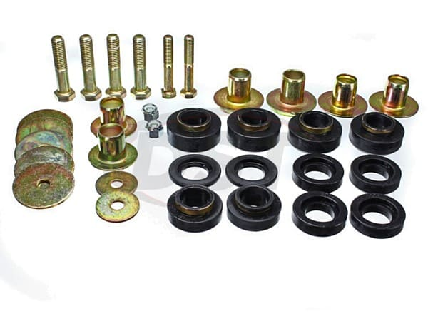 Body Mount Bushings and Radiator Support Bushings - 76-81 Pontiac