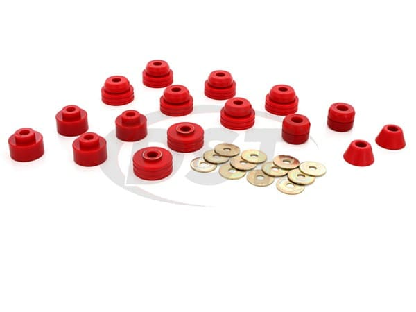 3.4147 Body Mount Bushings Kit - Suburban Only