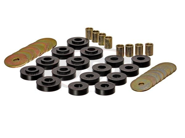 Body Mount Bushings - Convertible Only