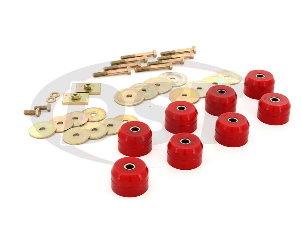 3.4166 Body Mount Bushings Kit - Hardtop
