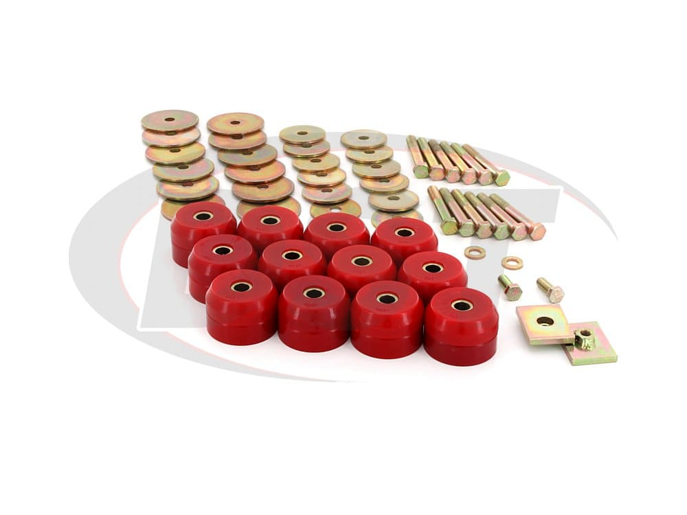 3.4167 Body Mount Bushings Kit - Convertible
